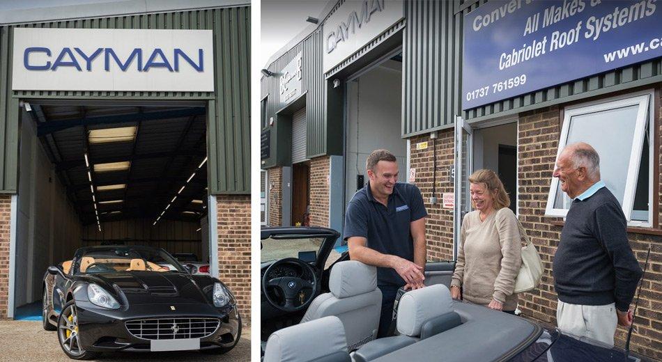 car soft top repair in kent